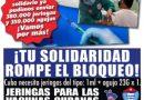 Tu Solidaridad rompe el bloqueo «Jeringas para las vacunas cubanas»